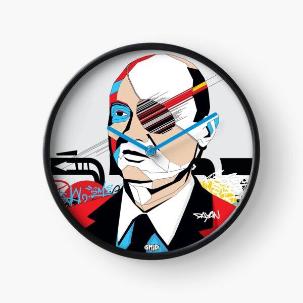 Moshe Dayan - Pop Art Israeli leader gift Clock