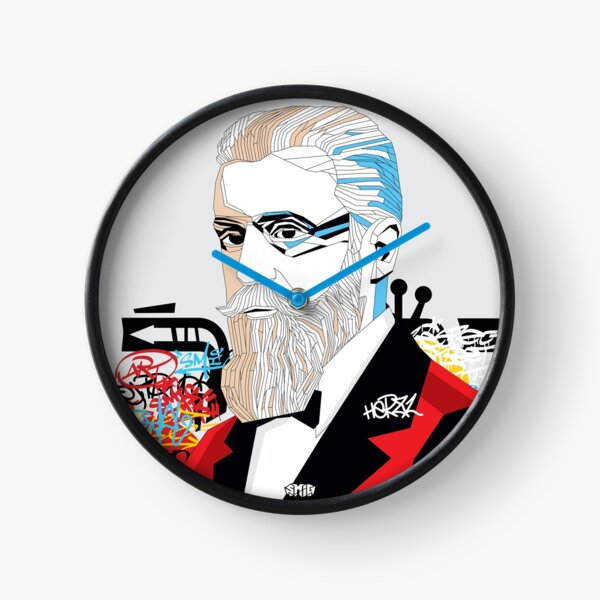 Theodor Herzl - Pop Art Israeli leader gift Clock