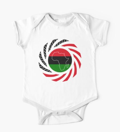 Black Murican Patriot Flag Series Kids Clothes