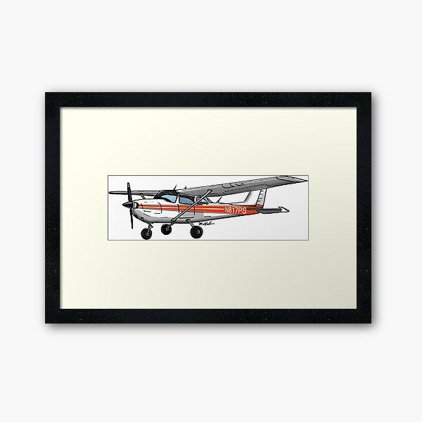 Cessna N817PS Framed Art Print