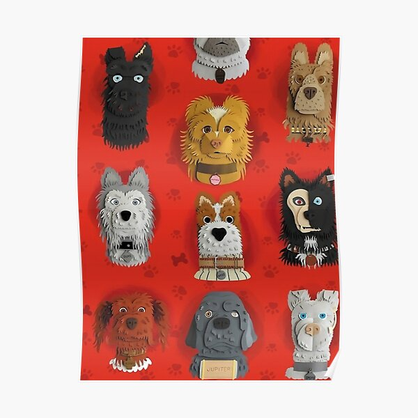 Isle Of Dogs Posters Redbubble