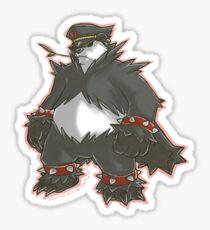 Pokemon Team Rocket Pangoro Sticker