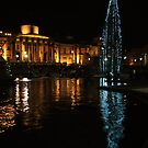 Merry Christmas from Trafalgar Square by Themis