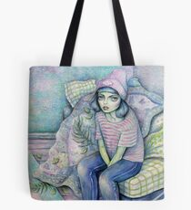 Born To Sit Tote Bag