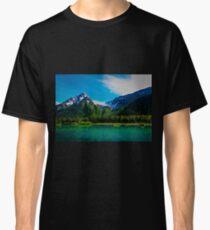 Serene Mountains Scenery Classic T-Shirt