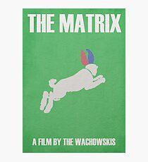 The Matrix Minimalist Poster Photographic Print