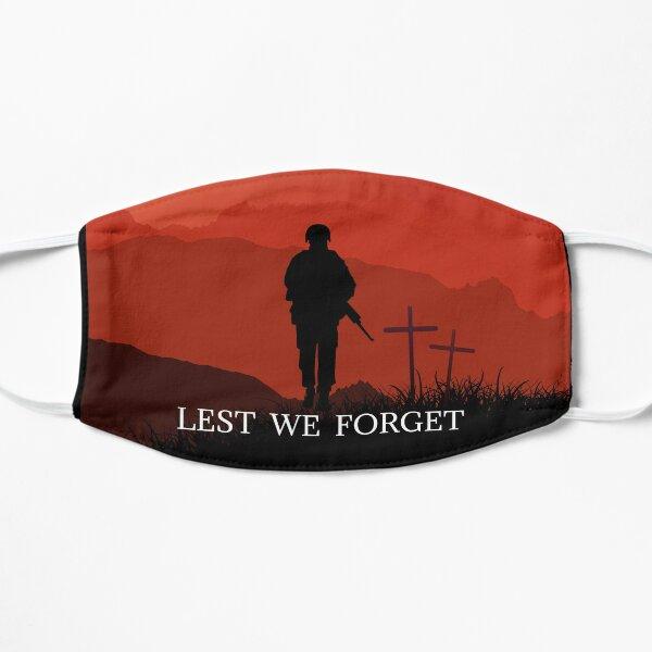 Lest we Forget  Flat Mask