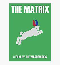 The Matrix Minimalist Design Photographic Print