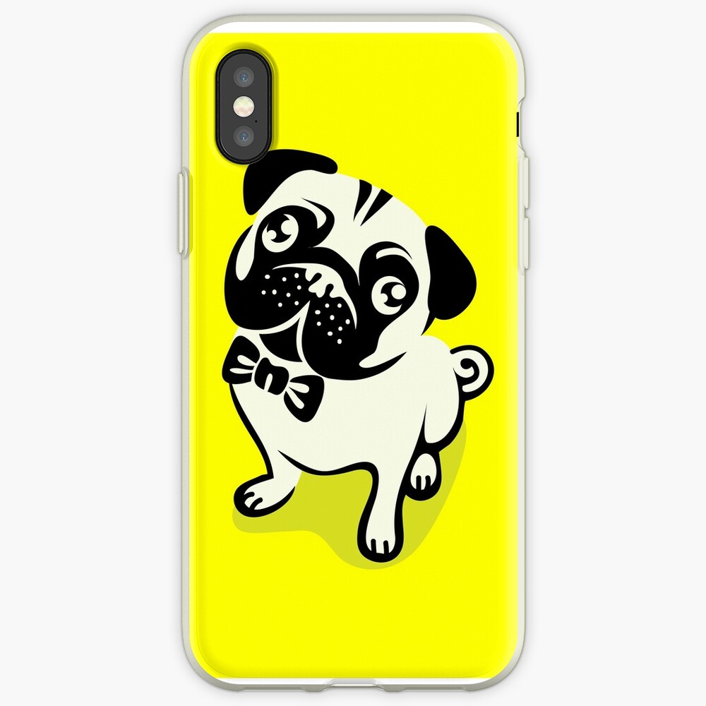 Mops Leben iPhone-Hülle & Cover