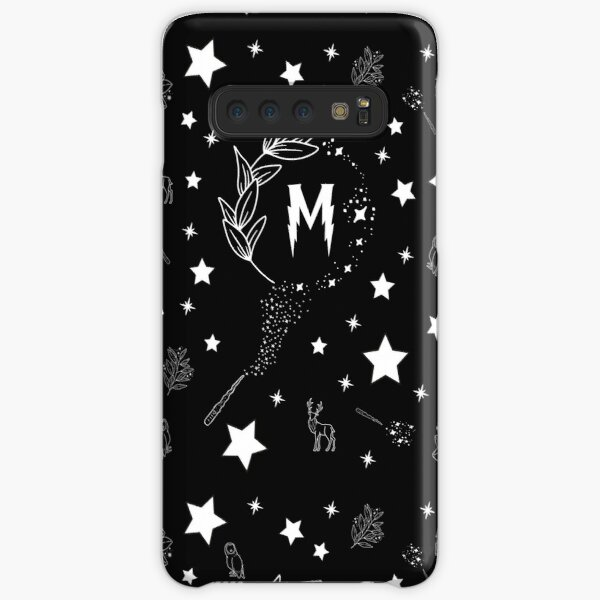 Letter M with Magic and Sparks Samsung Galaxy Snap Case