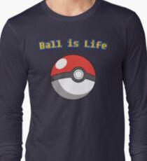 Ball is Life - Pokeball Long Sleeve T-Shirt