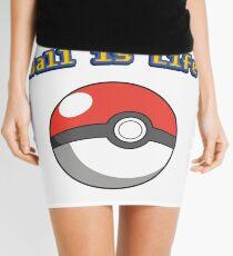 Ball is Life - Pokeball Mini Skirt