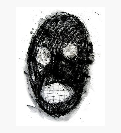 Clanky Man Photographic Print