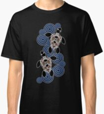 Aboriginal Art Authentic - Sea Turtles Classic T-Shirt