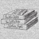 His Dark Materials Book Stack by Louise Norman
