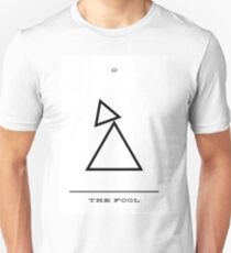 Minimalist Tarot - The Fool T-Shirt