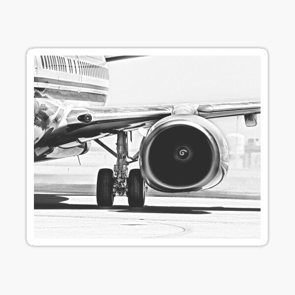 Jet Turbofan Engine Sticker