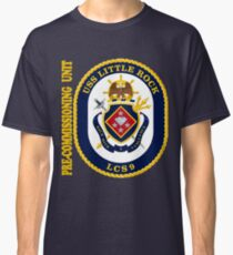 LCS-9 USS Little Rock Pre-Commissioning Unit for Dark Classic T-Shirt