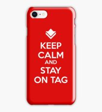 Guild Wars - Keep Calm and Stay on Tag iPhone Case/Skin