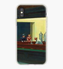Weinlese Edward Hopper Nighthawks Abendessen iPhone-Hülle & Cover
