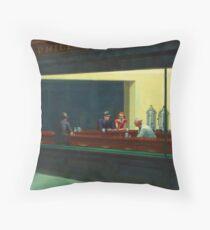 Cojín Vintage Edward Hopper Nighthawks Diner