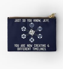 Community: Different Timelines Studio Pouch