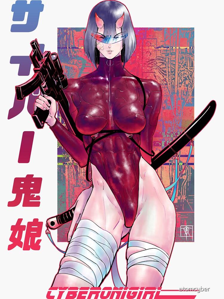 Cyberonigirl by atomcyber