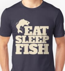 Eat Sleep FISH Unisex T-Shirt