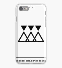 Minimalist Tarot - The Empress iPhone Case/Skin