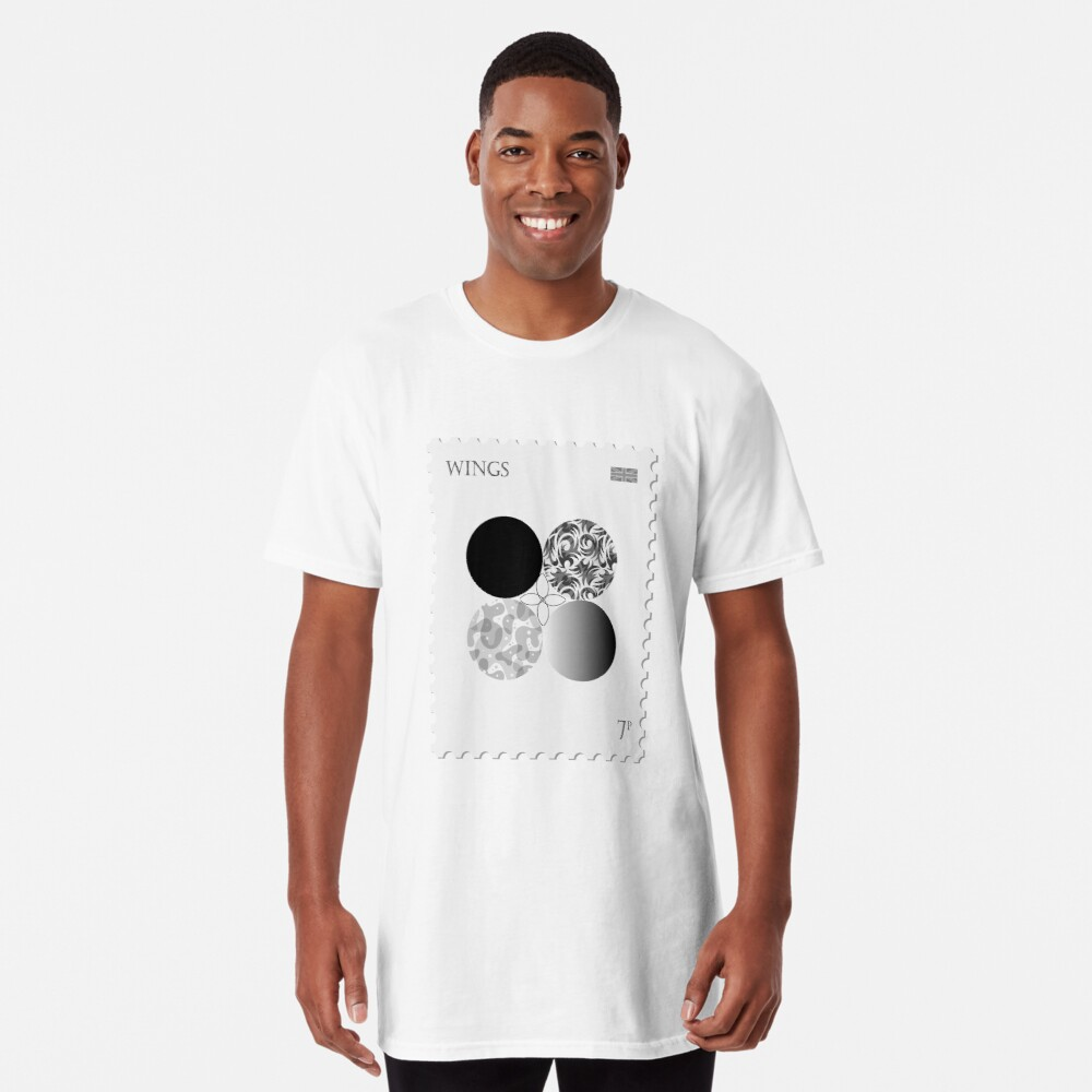 BTS Wings Stamp Long T-Shirt