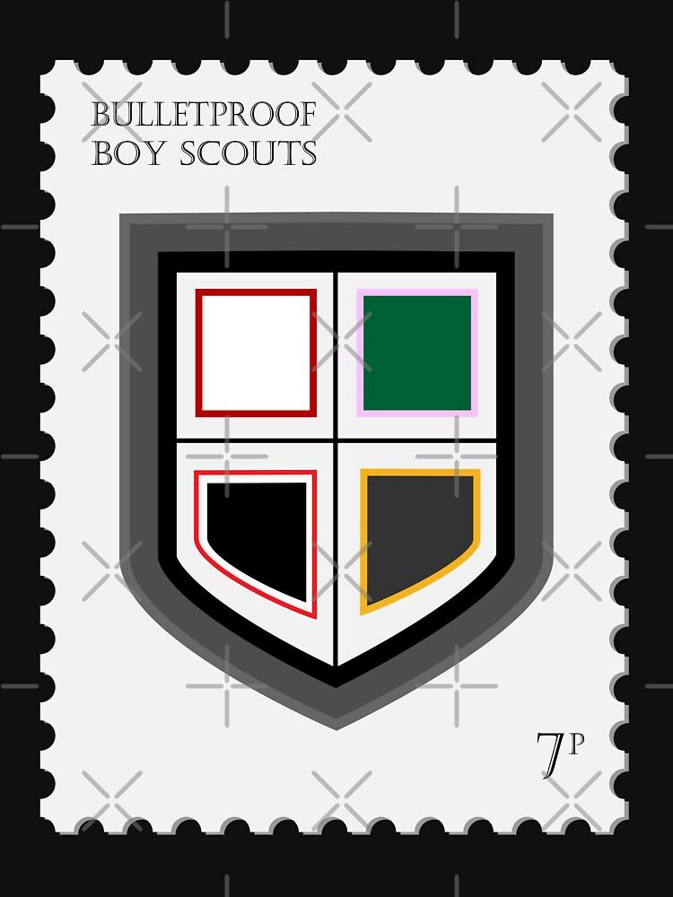 BTS Bulletproof Stamp by LondonKpopSt
