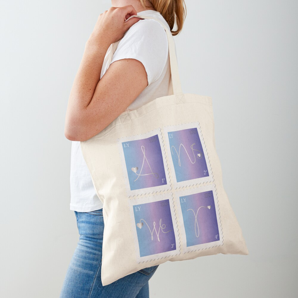 BTS Love Yourself Answer Stamp Tote Bag