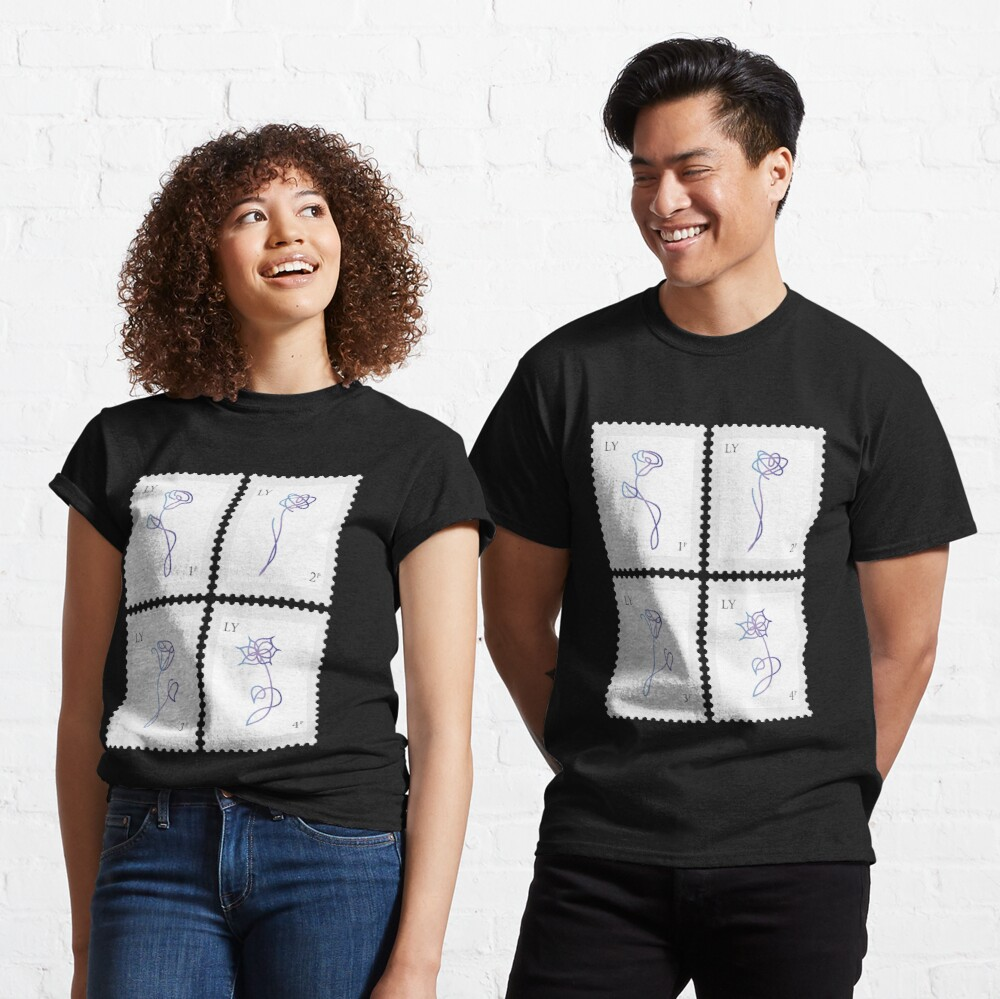 BTS Love Yourself Her Stamp Classic T-Shirt