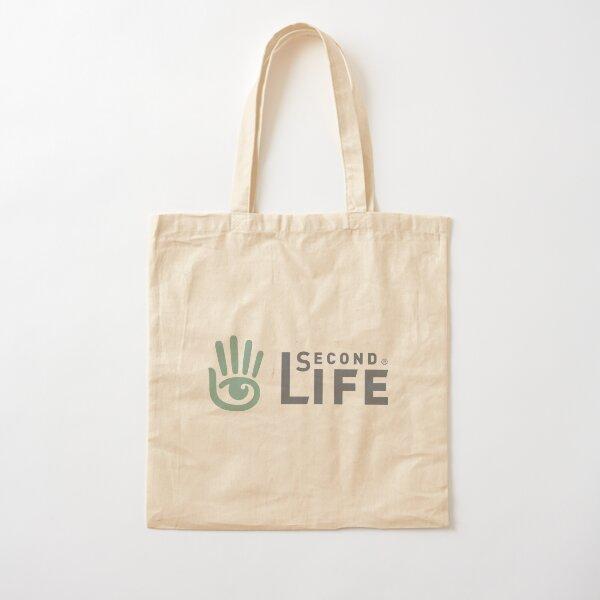 Classic Second Life Logo Cotton Tote Bag
