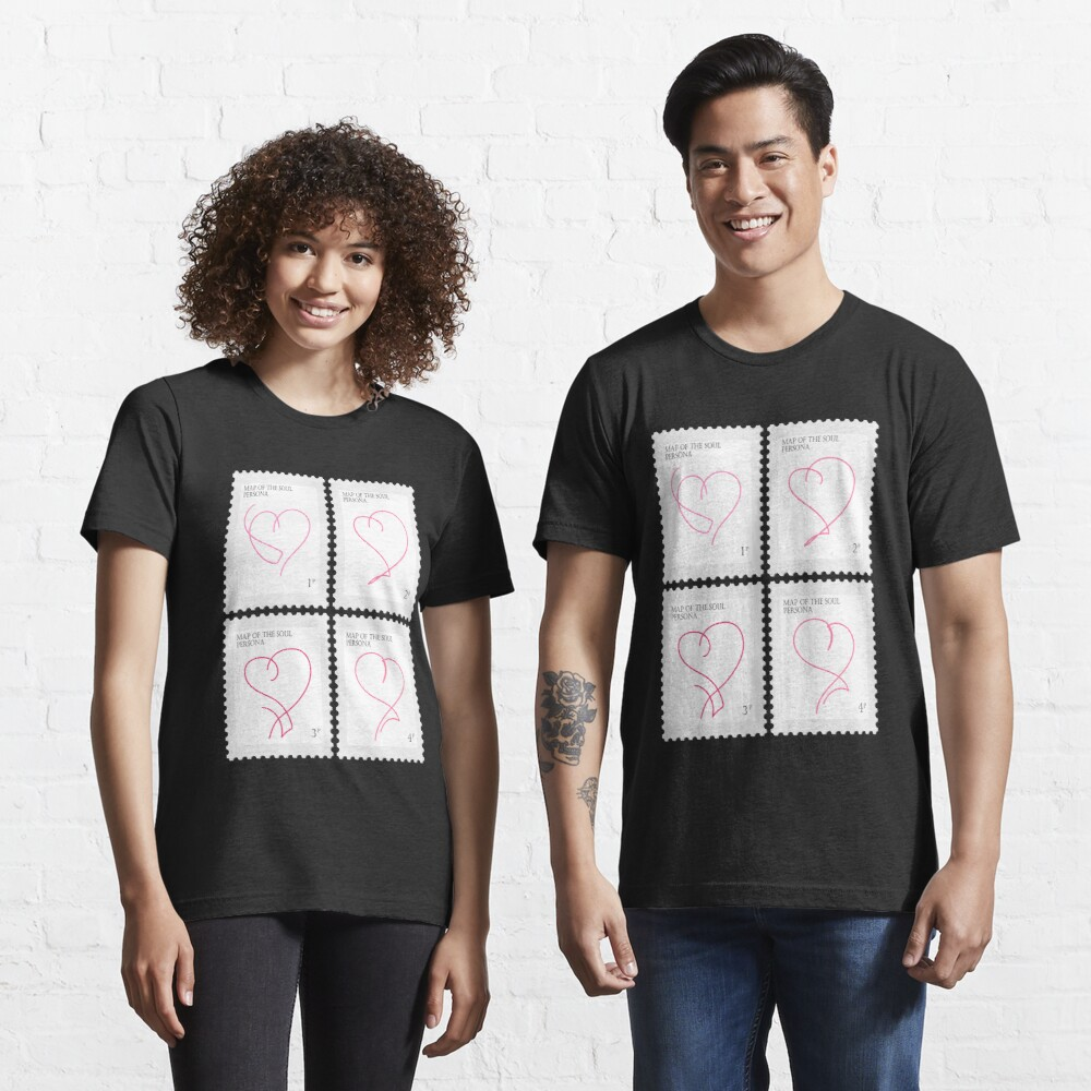 BTS Map of the Soul Persona Stamp Essential T-Shirt