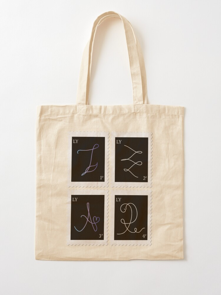 Alternate view of BTS Love Yourself Tear Stamp Tote Bag