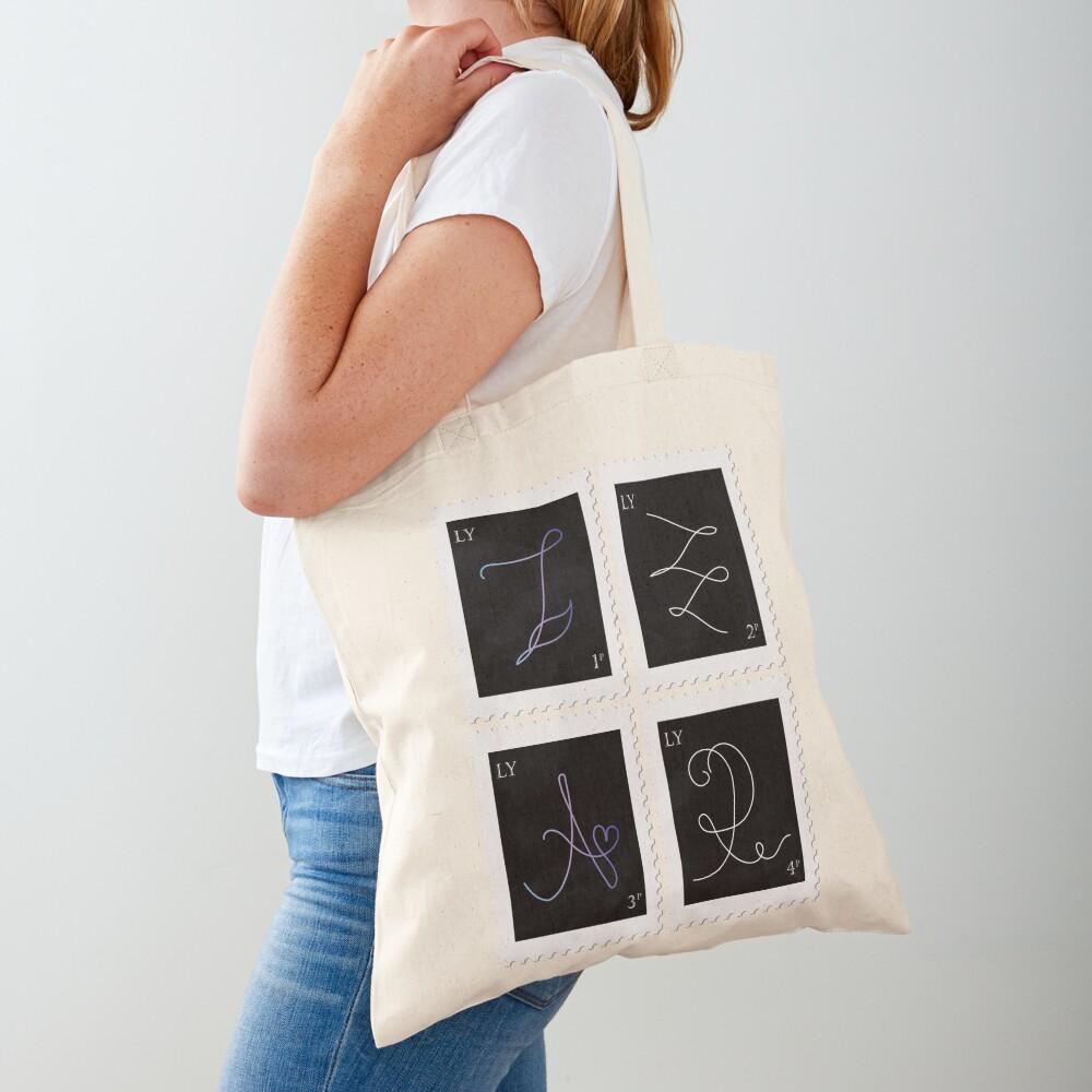 BTS Love Yourself Tear Stamp Tote Bag