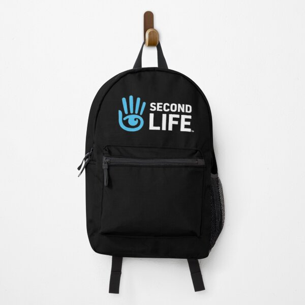 Second Life Logo Backpack