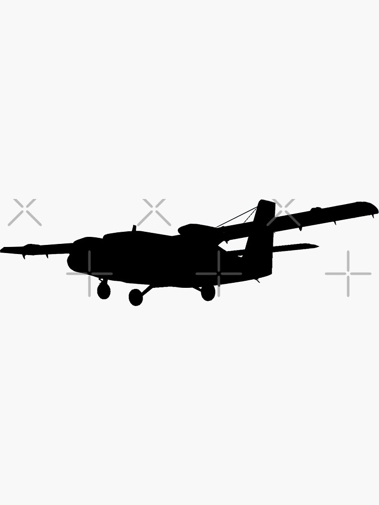 DHC-6 Twin Otter Silhouette by northstardc4m