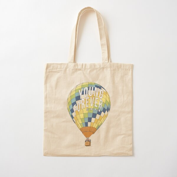 young forever Cotton Tote Bag