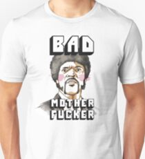 Pulp fiction - Jules Winnfield - Bad mother fucker Unisex T-Shirt