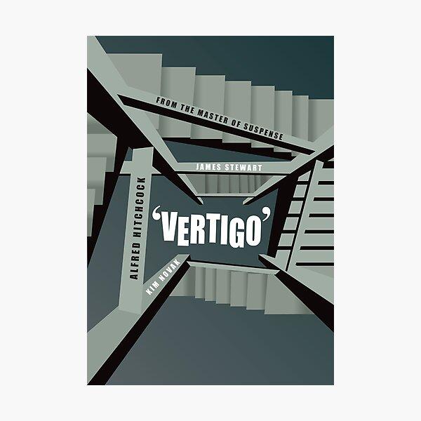 Vertigo - Alternative Movie Poster Photographic Print