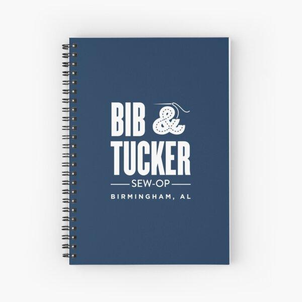 Bib & Tucker Sew-Op - white Spiral Notebook