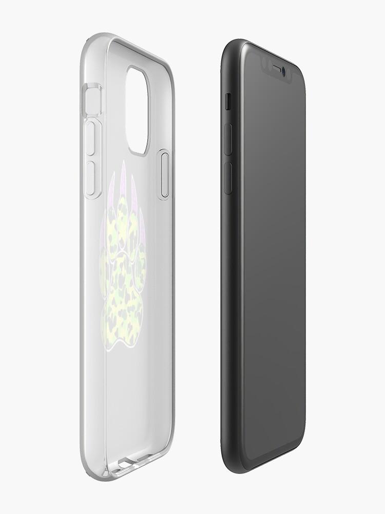 Coque iPhone «YUNG BEAR PAW», par yungchukk