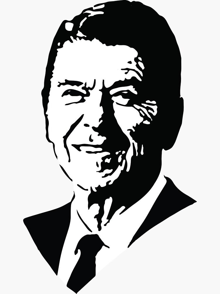Ronald Reagan by timothydenehy