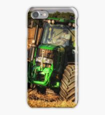 Tractor and the Baler iPhone Case/Skin