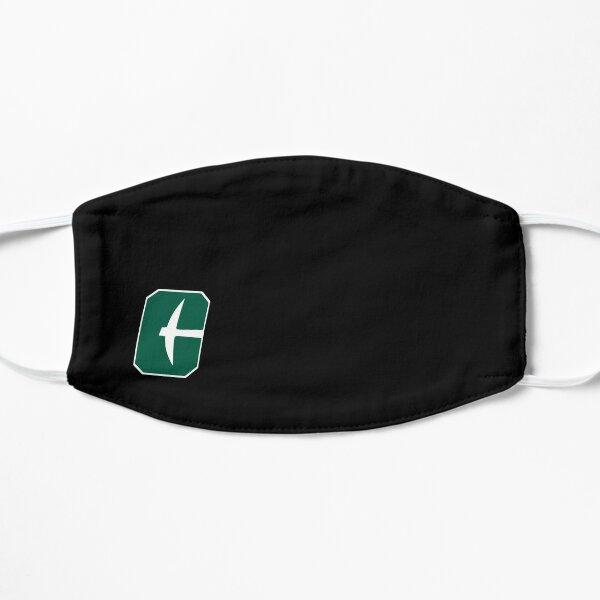 UNCC New Logo (White Outline) Flat Mask