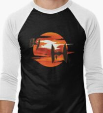Ride of the Tie fighters Men's Baseball ¾ T-Shirt