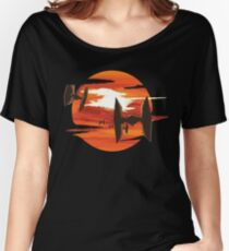 Ride of the Tie fighters Women's Relaxed Fit T-Shirt