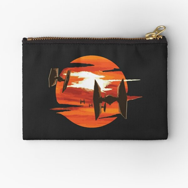 Ride of the Tie fighters Zipper Pouch